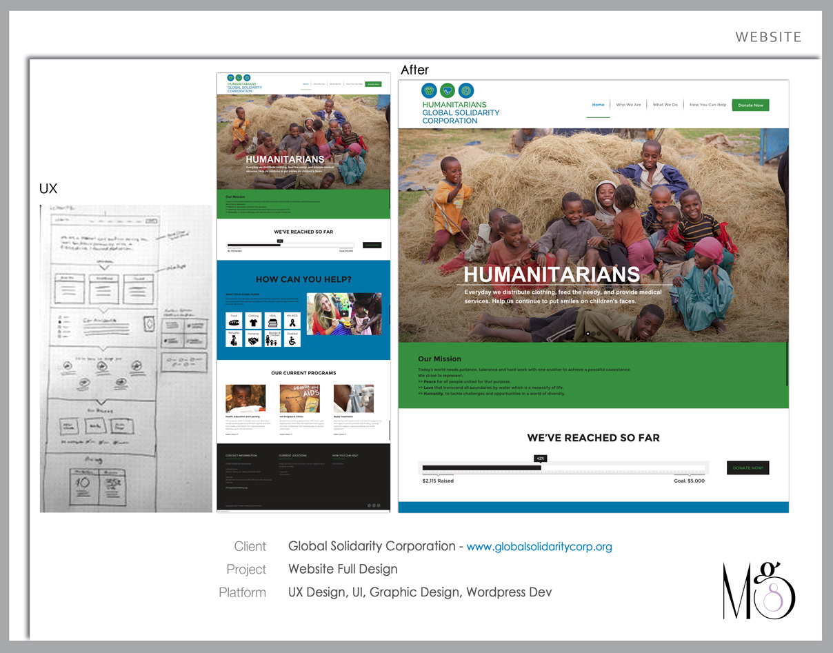 Website – Global Solidarity Corp. Full Design & Architecture