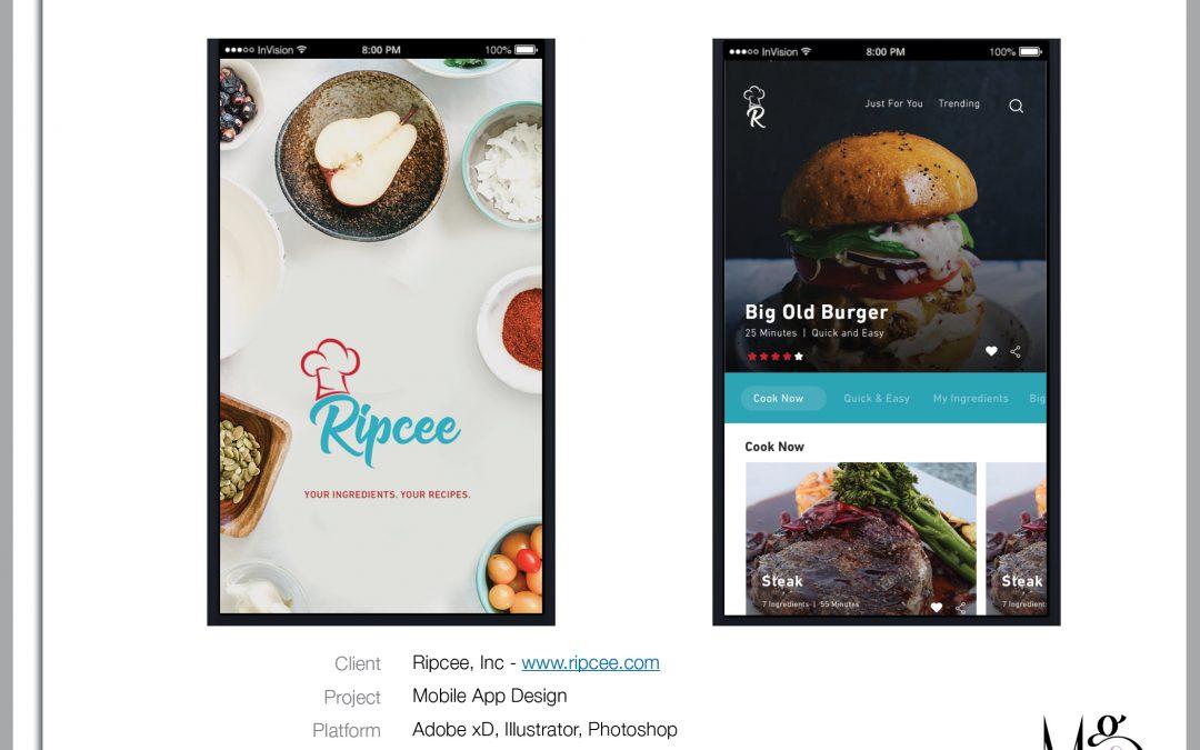 Mobile – Ripcee Recipe App