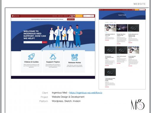 Website – Ingenious Med Support